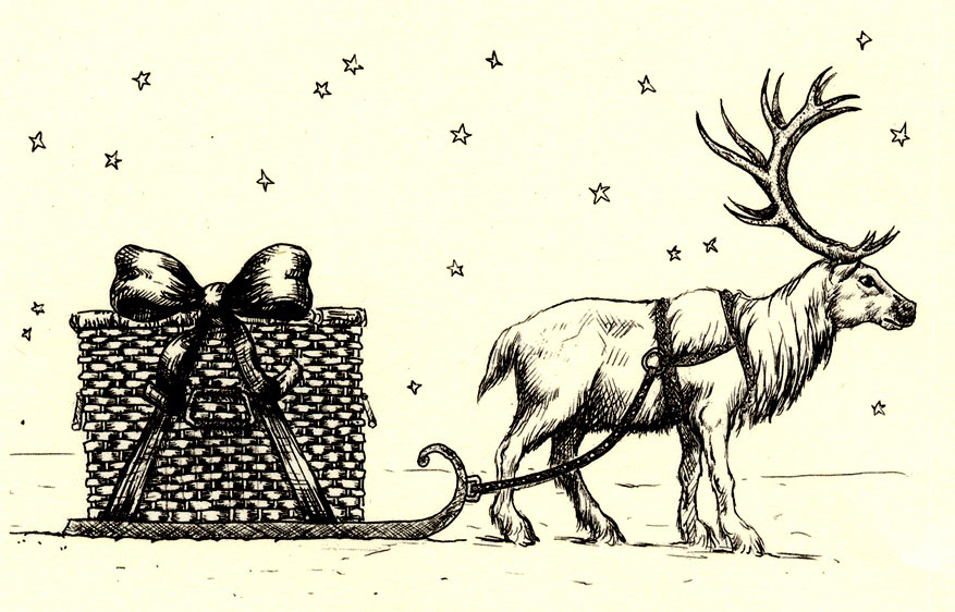 reindeer illustration
